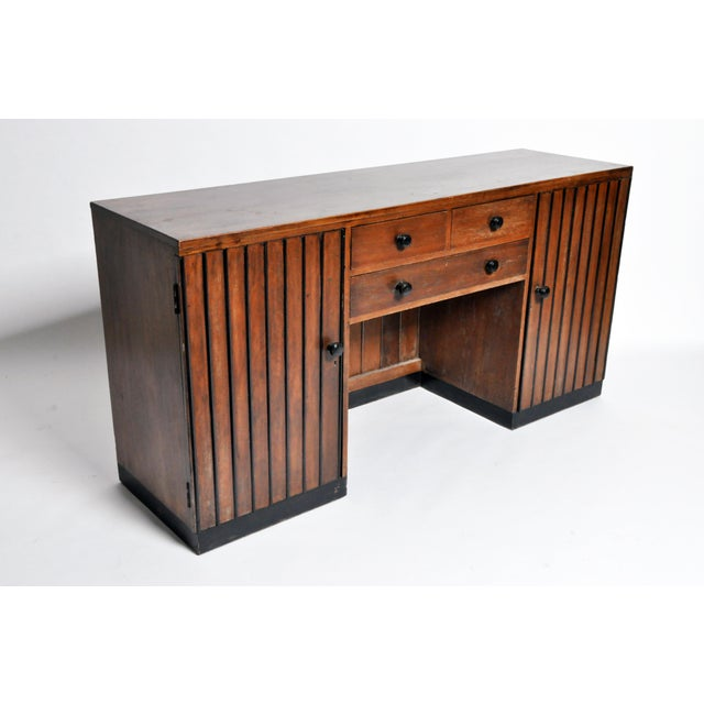 Early 20th Century British Colonial Art Deco Sideboard For Sale - Image 5 of 11