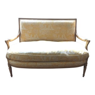 Pierre Deux French Country Louis XVI Settee