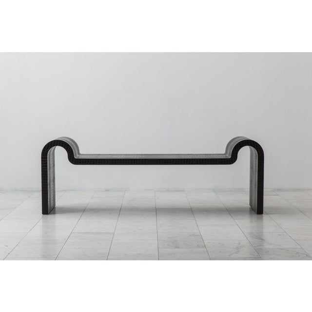 Contemporary Sculpture Bench, Usa For Sale - Image 3 of 9