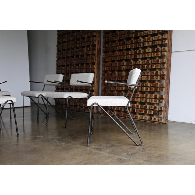George Kasparian Dining Chairs, circa 1950. The price listed is for the set of six chairs.