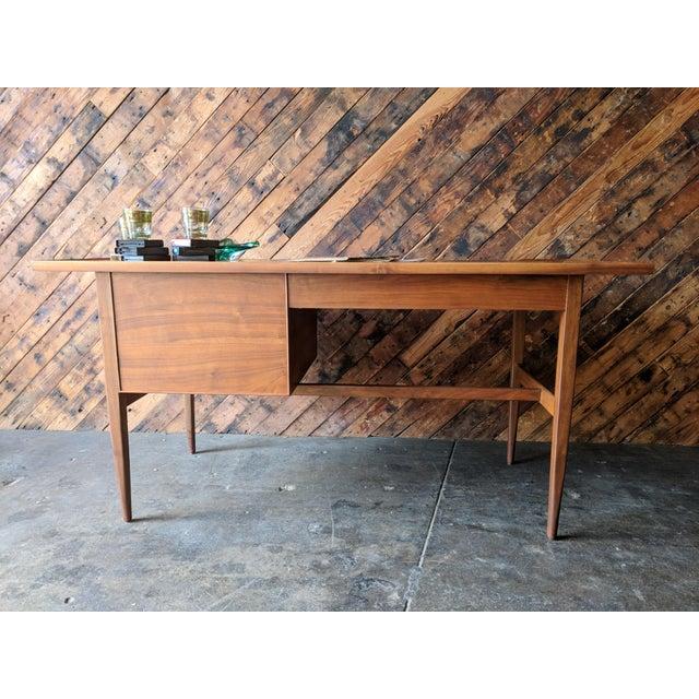 Mid Century Drexel Declaration Desk by Kipp Stewart For Sale - Image 9 of 11