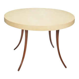 Late 20th Century Vintage Round Dining Table For Sale