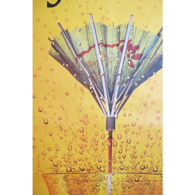 1995 Schweppes Advertising Poster, Schhh...! Umbrella - Image 2 of 5