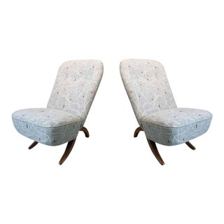 Pair of Theo Ruth ''Congo'' Chairs for Artifort, 1950s