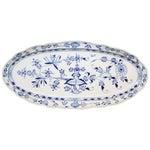 Meissen Porcelain Blue Onion Fish Platter