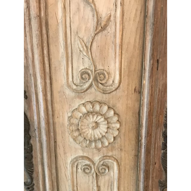 Mid 18th Century 18'th Century French Carved Wood Armoir For Sale - Image 5 of 10