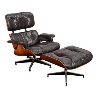 Eames 670 Lounge Chair and 671 Ottoman for Herman Miller