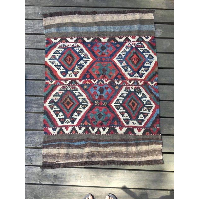 Hi - I am selling my prized possession from back-packing trip to Turkey. I bought the kilim 3 years ago during my time in...
