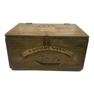 New England Sceen Storage Trunk / Box