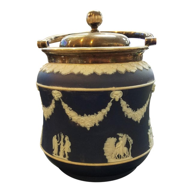 Wedgwood Biscuit Box - Image 1 of 4