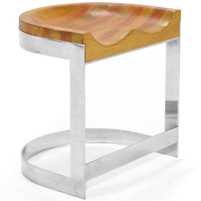 Warren Bacon Low Stool For Sale - Image 10 of 10