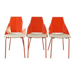 Blu Dot Real Good Chairs- Set of 3 For Sale