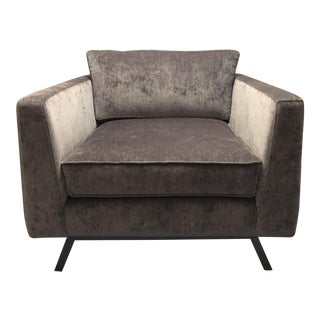 Weiman Home Miles Velvet Chair For Sale