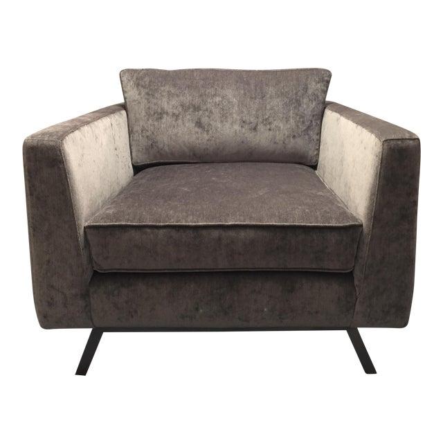 Weiman Home Miles Velvet Chair For Sale