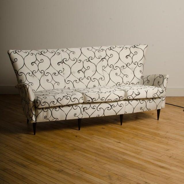 1950s Italian Paolo Buffa Style Sofa For Sale - Image 10 of 11