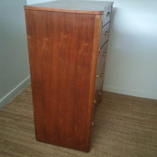 Art Deco Walnut Crotch Wood Chest of Drawers Preview