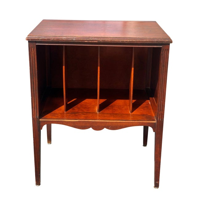 This Traditional Vinyl Record Cabinet was crafted during the 1940's into the 1950's. This cabinet is exceptionally sturdy...