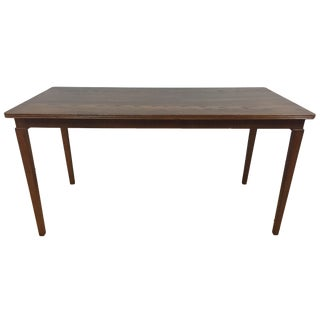 Jorgen Christensens Danish Oak Sofa Table