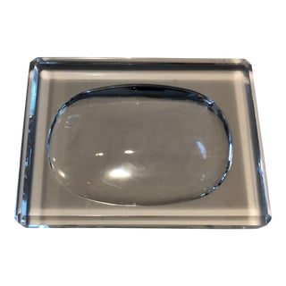 Oleg Cassini Crystal Soap Dish For Sale