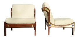 Image of Newly Made Danish Modern Accent Chairs