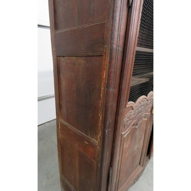 18th C. French Provincial Armoire For Sale - Image 9 of 11