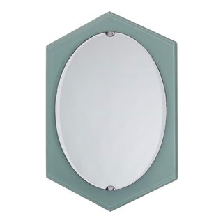 Fontana Arte Italian Mid Century Mirror For Sale