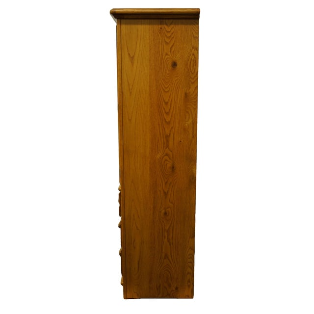 """Thomasville Furniture American Country Collection 40"""" Armoire/Door Chest For Sale - Image 9 of 13"""
