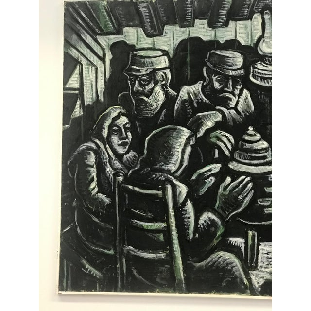 1990s Arie Eckstein Contemporary Oil Painting For Sale In New York - Image 6 of 10