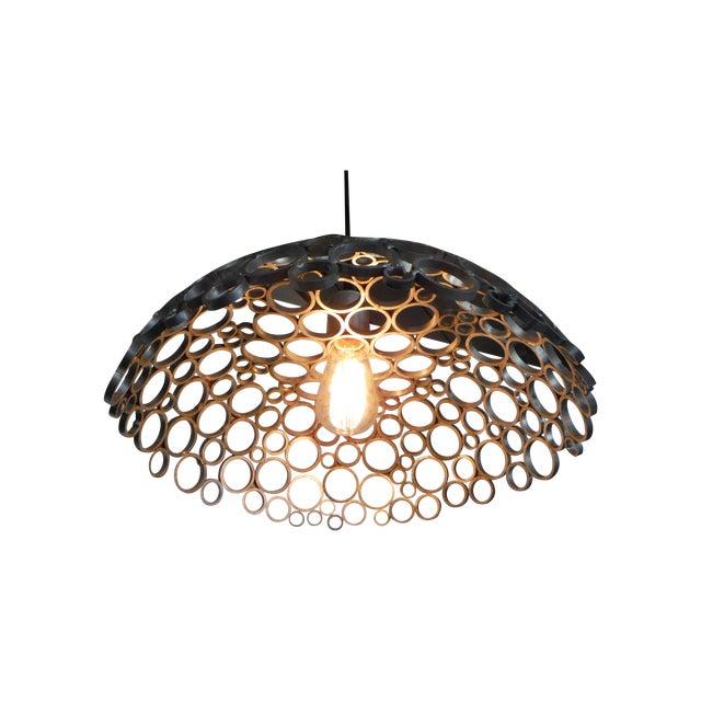 Tiffany Aluminum Pendant Light For Sale