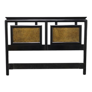 Century Chin Hua Asian Influenced Queen Headboard For Sale