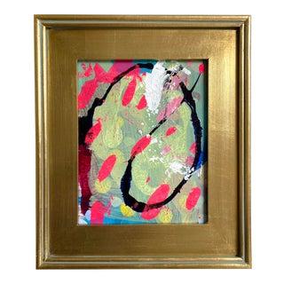 "Jessalin Beutler 2021 ""Pink Rain"" Framed Painting For Sale"