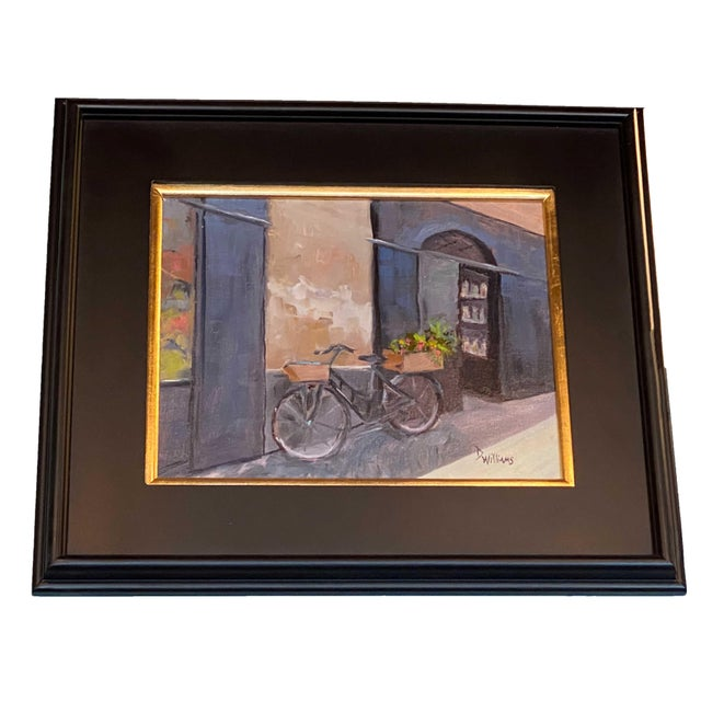 19th Century 19th Century Painting of Bicycle For Sale - Image 5 of 5