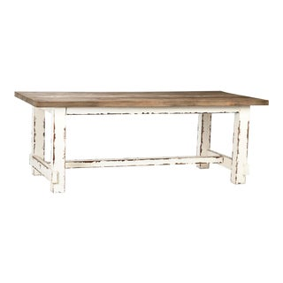 Beach House Pine Dining Table For Sale