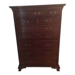 Lancaster Chippendale Style Stickley Chest of Drawers