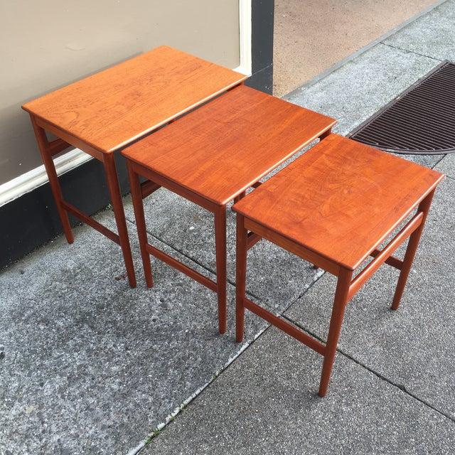 Hans Wegner Nesting Tables - Set of 3 - Image 8 of 11