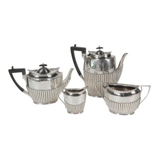 19th Century Regency Style English Sterling Tea and Coffee Service - 4 Pieces