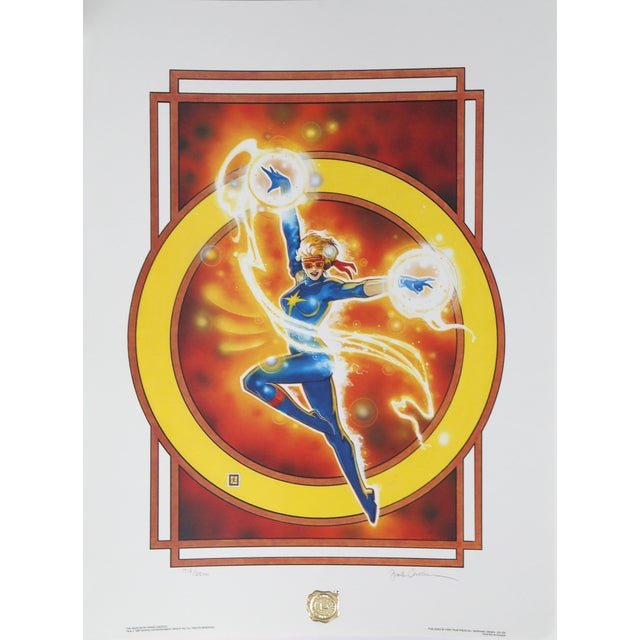 """""""The Dazzler"""", 1987, Offset Lithograph by Frank Cirocco For Sale - Image 4 of 4"""