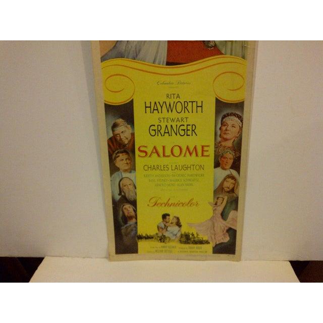 "Vintage Movie Poster ""Salome"" - Image 4 of 5"