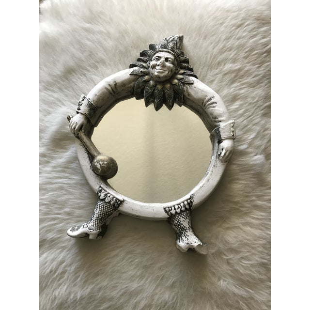 Vintage French Jester Mirror - Image 2 of 7