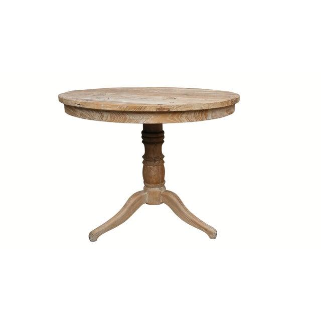 Louis XIV Style Pine Bistro Set - Image 4 of 9