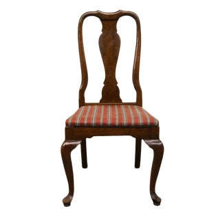 20th Century Queen Anne Ethan Allen Dining Side Chair For Sale