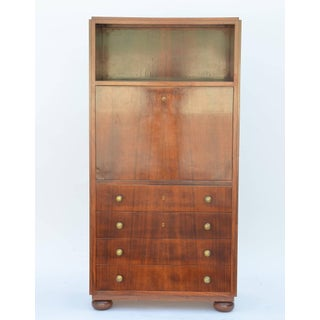 1930s Exceptional French Art Deco Secretary Cabinet Preview