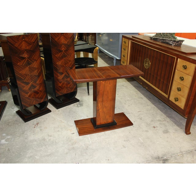 French Art Deco Console Tables - A Pair - Image 6 of 10