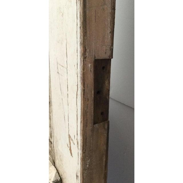 Antique Beveled Glass & Wooden Door - Image 5 of 10