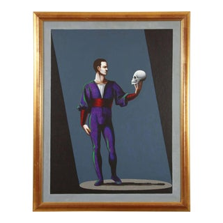Hamlet a Preliminary Study for a Painting by Lynn Curlee For Sale