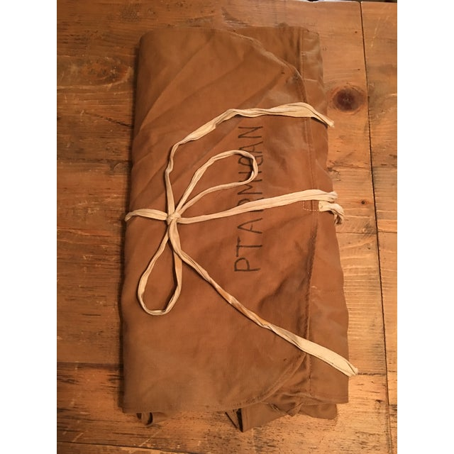 Tan Vintage English Tool Roll For Sale - Image 8 of 10
