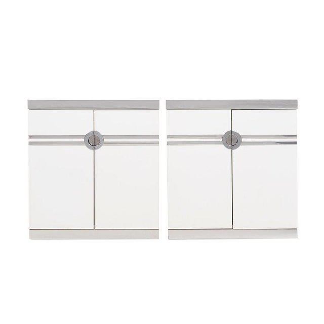 Pierre Cardin Pair of Nightstands For Sale - Image 13 of 13