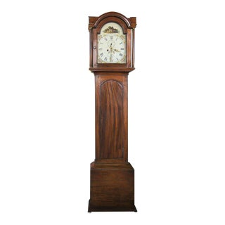 Early 19th Century English Tall Case Clock For Sale