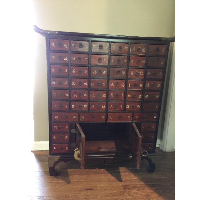 Antique Korean Apothecary Chest For Sale - Image 5 of 5