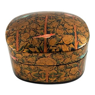 Kashmir Paper Mache Hand Painted Box